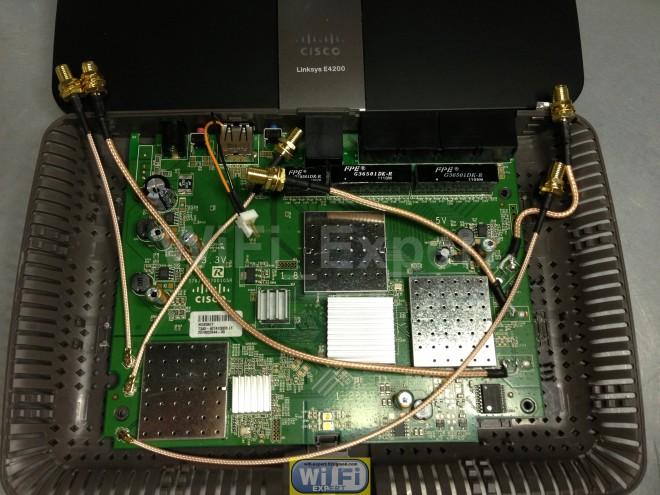 2dBi 6dBi 7dBi 9dBi Dual Band Antenna Mod Kit Linksys E3000 /& E4200