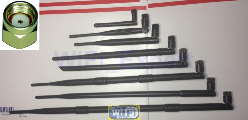 4 x U.Fl Cables