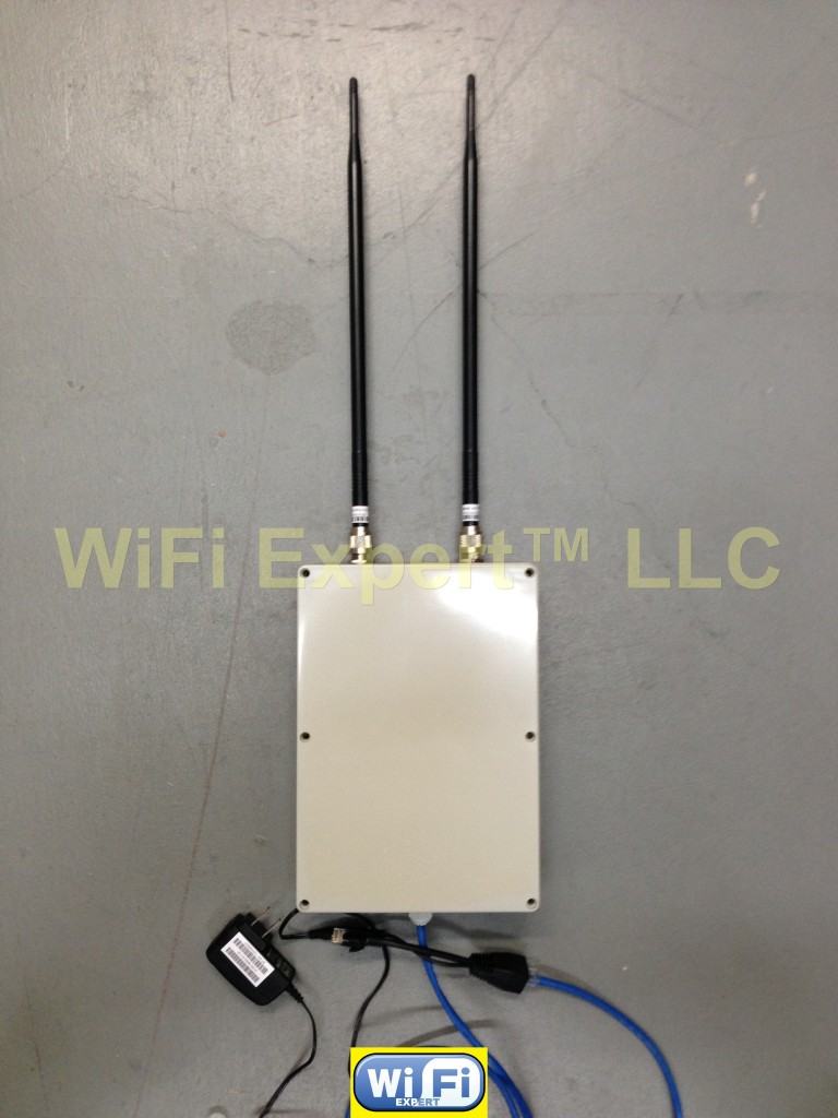 Ap Router Repeater 9dbi High Gain Dd Wrt In Outdoor Box Enclosure Does Not Apply