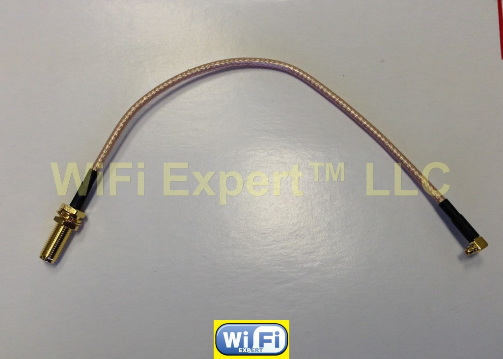 1 FME Female to RP-SMA FEMALE RF pigtail Cable COAX RG316 4-20inch USA Assembled