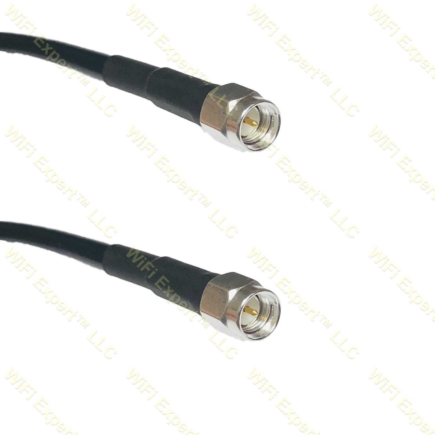 TIMES® Microwave LMR200 1-30/' Silver UHF PL259 male N Male  RF pigtail cable USA