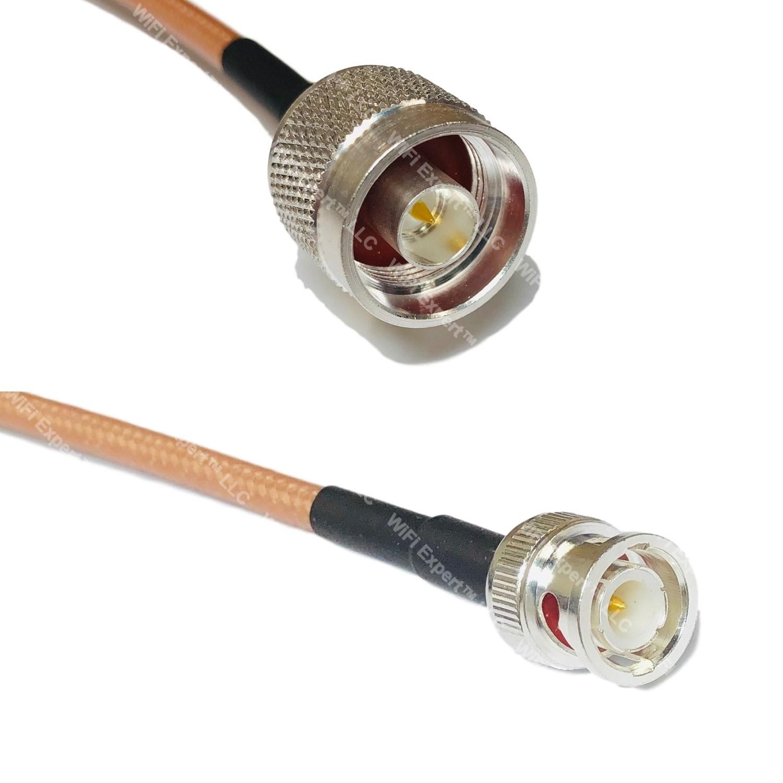 SMA female  RG-400      coax cable US MADE    20  FT     SMA male